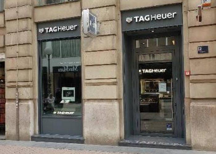 Zagreb – Petrićeva ulica – Tag Heuer
