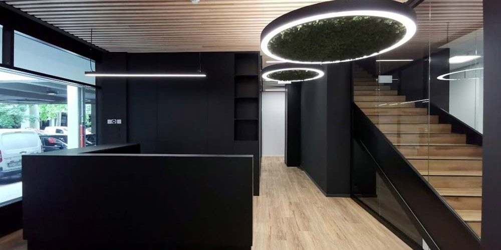 UREDSKI PROSTOR Attractive, modern office space located in Novi Zagreb is currently in the final stages of renovation.