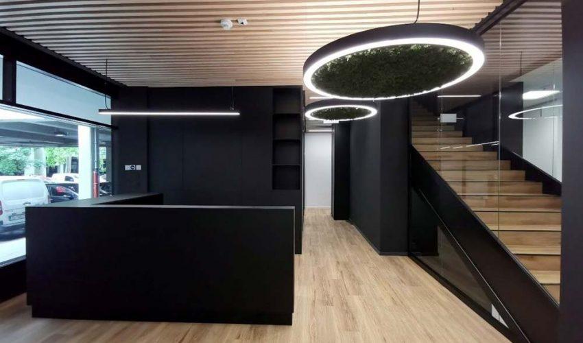 UREDSKI PROSTOR Atraktivan, moderni uredski prostor smješten u Novom Zagrebu  trenutno je u završnoj fazi uređenja.